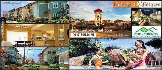 Bellefort Estates House and Lot for Sale in Cavite