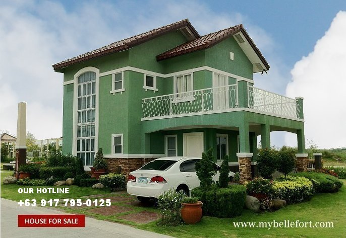 House and Lot for Sale in Bellefort Estates, Daang Hari, Philippines