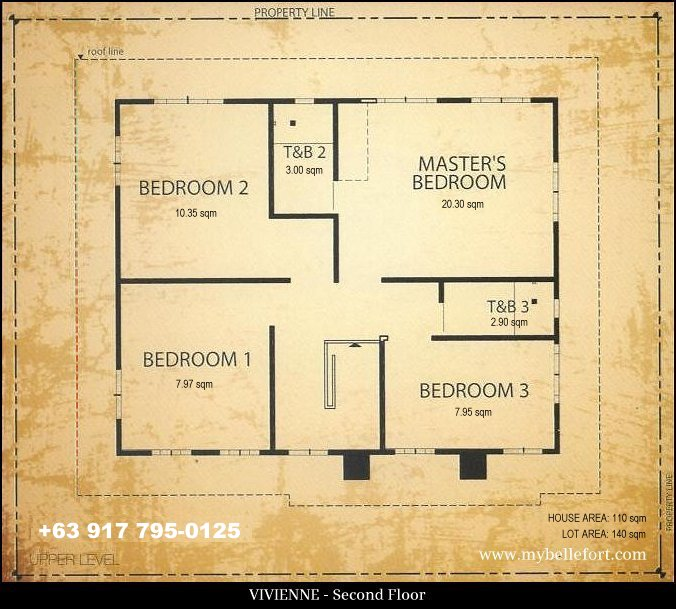 Bellefort estates vivienne house for sale in daang hari Model homes floor plans